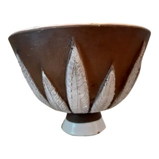 Bitossi Italian Mid Century Modern Bowl For Sale