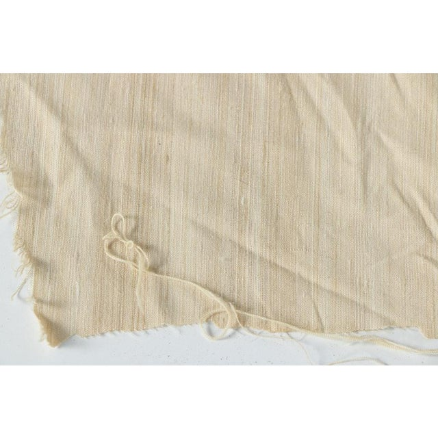 1990s Dupioni Silk Upholstery Fabric Roll For Sale - Image 5 of 8