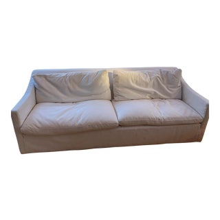 Modern Restoration Hardware 8' All Down Cloud Sofa Couch For Sale