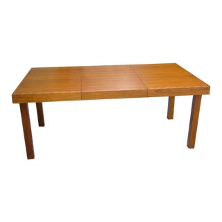 Classic Early George Nelson for Herman Miller Walnut Dining Table For Sale
