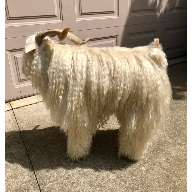 1960s Vintage Claude Lalanne Style Figural Sheep Sculpture / Stool For Sale In Indianapolis - Image 6 of 10