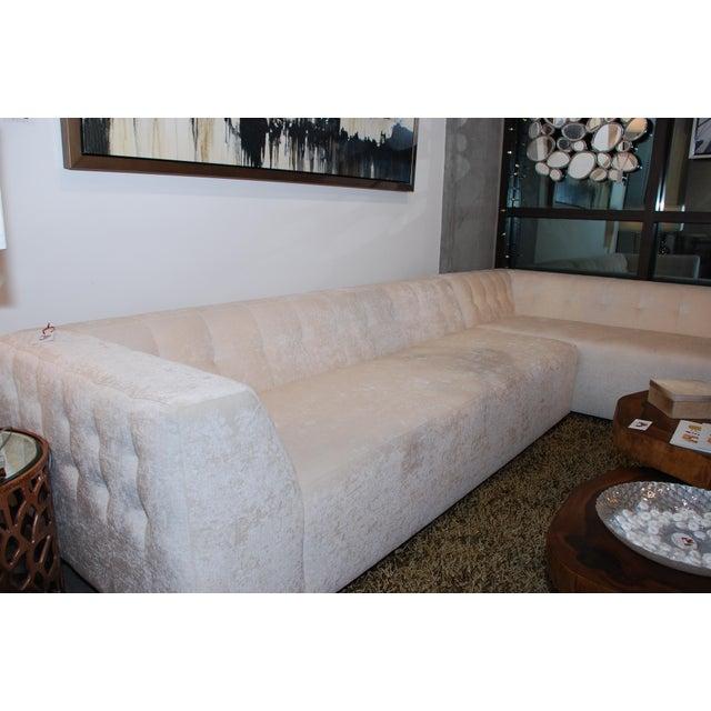 Rene Cazares Paulina Sectional Sofa | Chairish