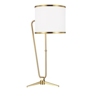 Jacobsen Table Lamp Burnished Brass For Sale