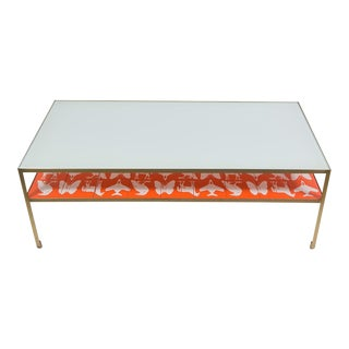 Angle Steel Coffee Table