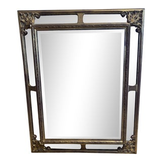Late 20th Century Georgian Gilded Mirror For Sale