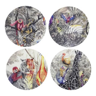 Arcadia Coasters, Set of 4 For Sale