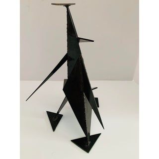 Mid Century Modern Brutalist Abstract Geometric Sculpture Preview