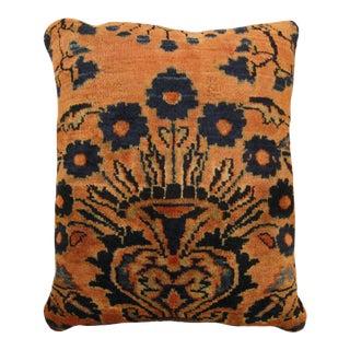 Vintage Lilihan Rug Pillow For Sale