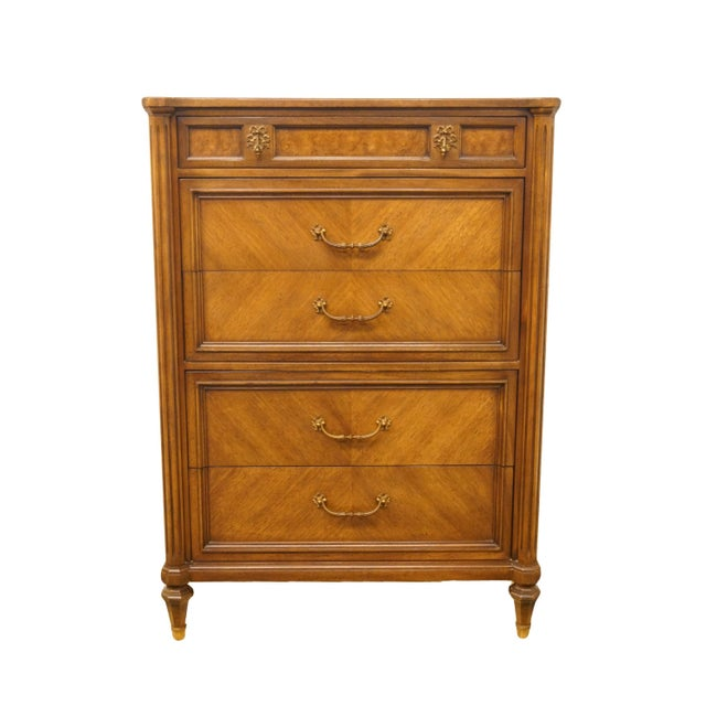 """20th Century Italian Century Furniture Neoclassical Tuscan Style 36"""" Chest of Drawers For Sale - Image 11 of 11"""