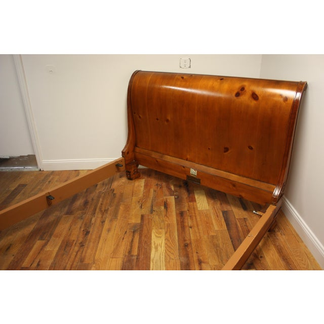 Traditional Queen Bed Frame For Sale - Image 3 of 13