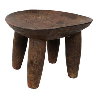 Early 20th Century Dogon Stool / Bowl For Sale