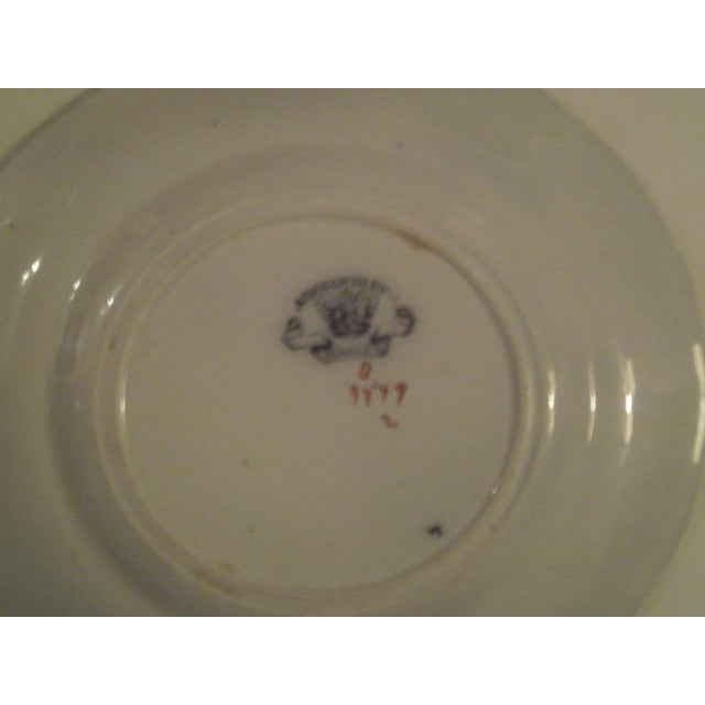 Antique Polychrome Decorated Plates - A Pair - Image 6 of 7