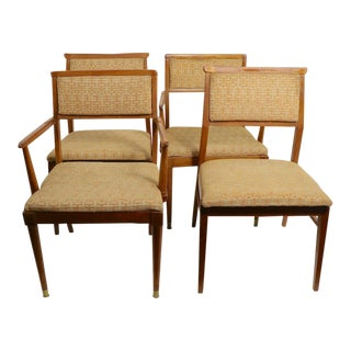 Mid Century Tung Si Dining Chairs by Hickory - Set of 4 For Sale