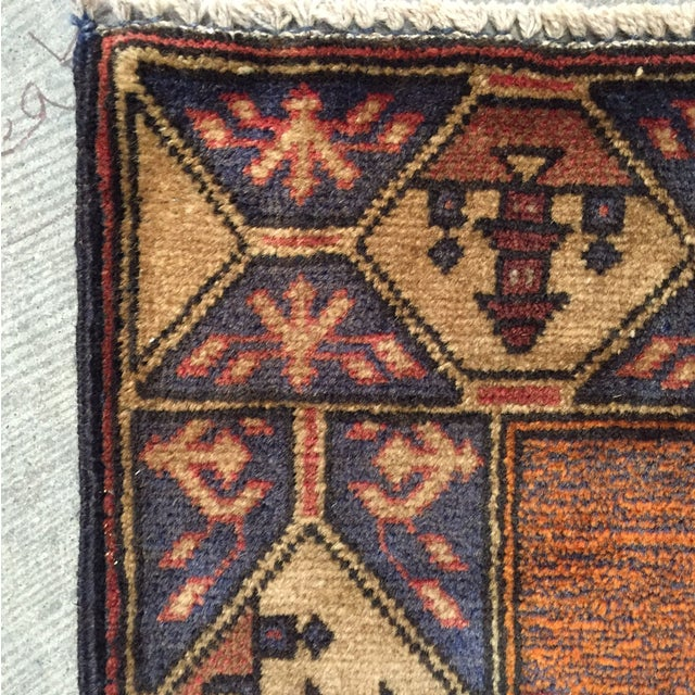 "Vintage Persian Rug - 2'10"" x 4'8"" - Image 7 of 8"