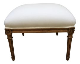 Image of French Country Ottomans and Footstools