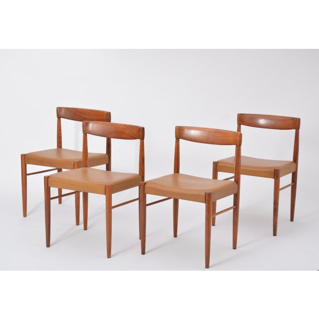 Rosewood Dining Chairs by h.w. Klein for Bramin, Set of Four For Sale - Image 12 of 12