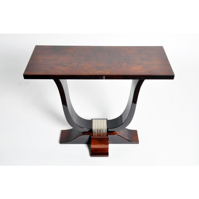 Hungarian Art Deco Style Table For Sale - Image 4 of 11