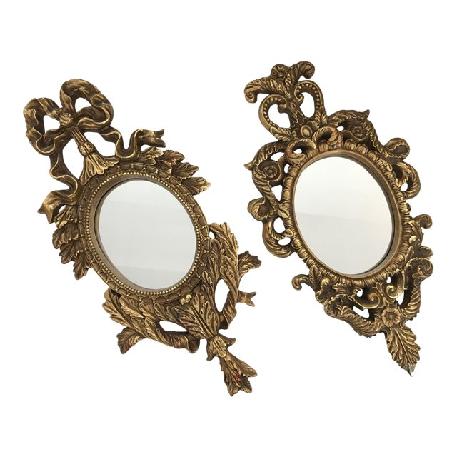 French Baroque Gilt Mirrors - A Pair - Image 1 of 11