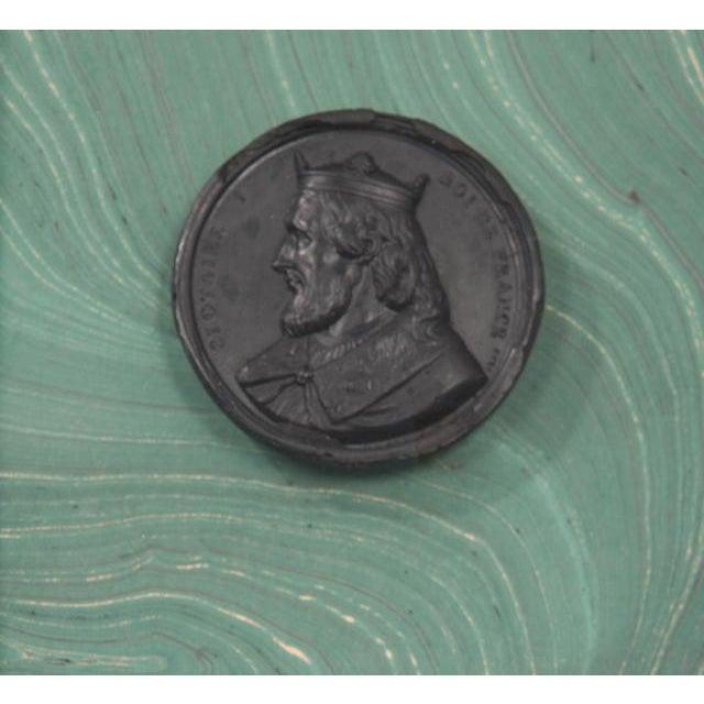 Ceramic Pair of Hatcher, New Orleans, Framed Intaglios For Sale - Image 7 of 9