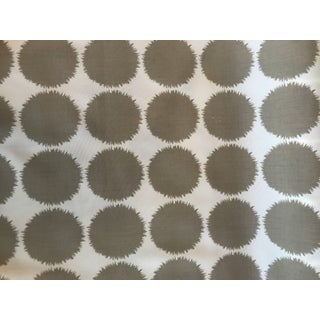 Contemporary Schumacher Fuzz Taupe Fabric - 4 Continuous Yards For Sale