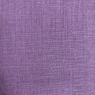100% Linen Aubergine Purple Fabric For Sale