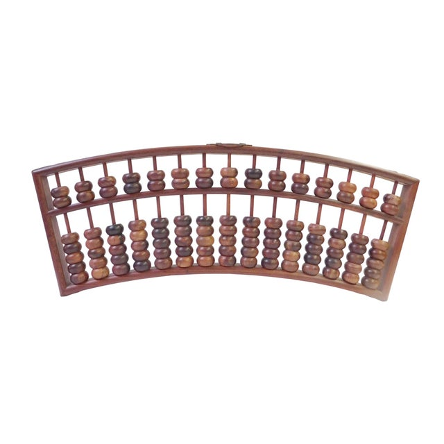 Fan Shaped Abacus Fengshui Wall Hanging - Image 1 of 6