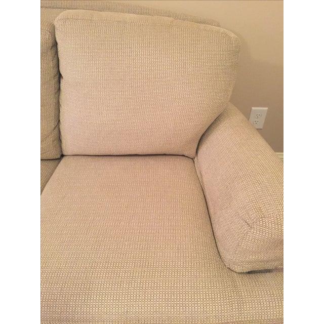 Ethan Allen Cream Sofa - Image 4 of 5