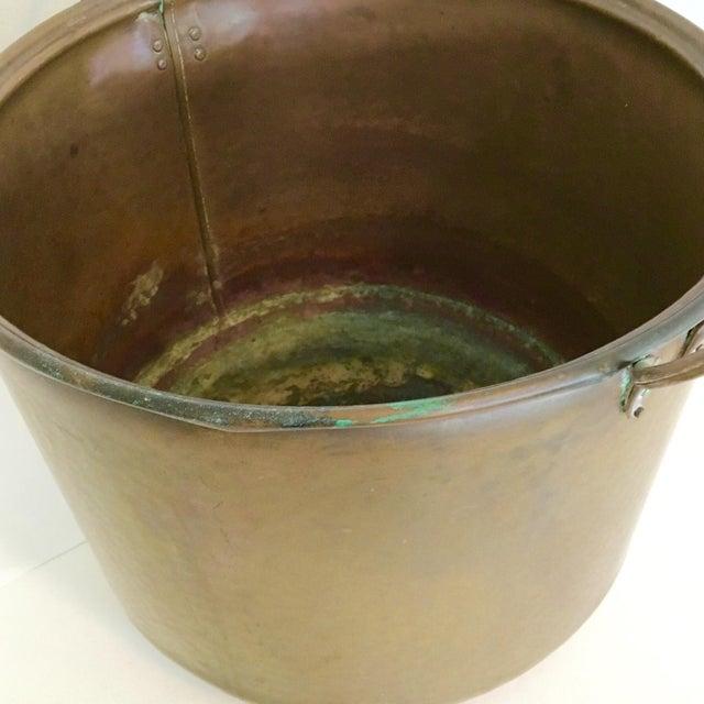 Vintage Rustic Copper Pot - Image 5 of 7