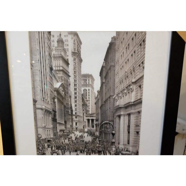 Cityscape & Architecture Framed Black & White Photograph For Sale - Image 4 of 6