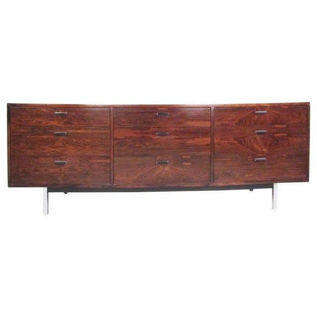 Founders Rosewood Nine-Drawer Dresser For Sale - Image 11 of 11