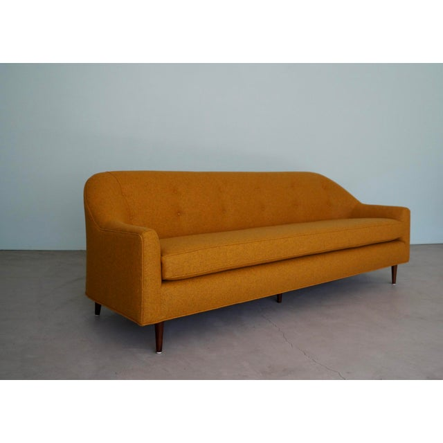 We have this spectacular original Mid-century Modern designer sofa for $3,850. It has been professionally reupholstered in...
