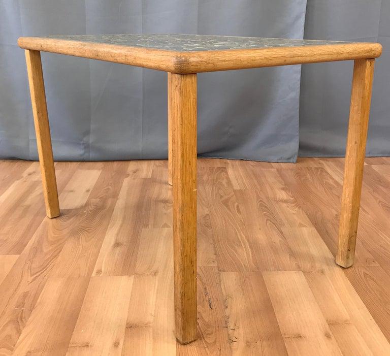 Marshall Studio Gordon Martz Tile Top Side Table