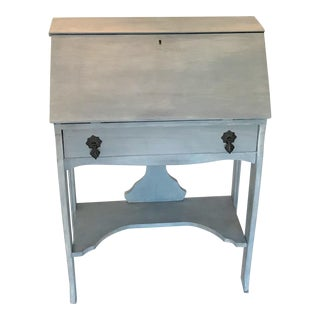 Late 19th Century Diminutive Slant Front Secretary Desk For Sale