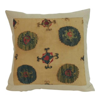 Antique Embroidery Suzani Tribal Decorative Pillow