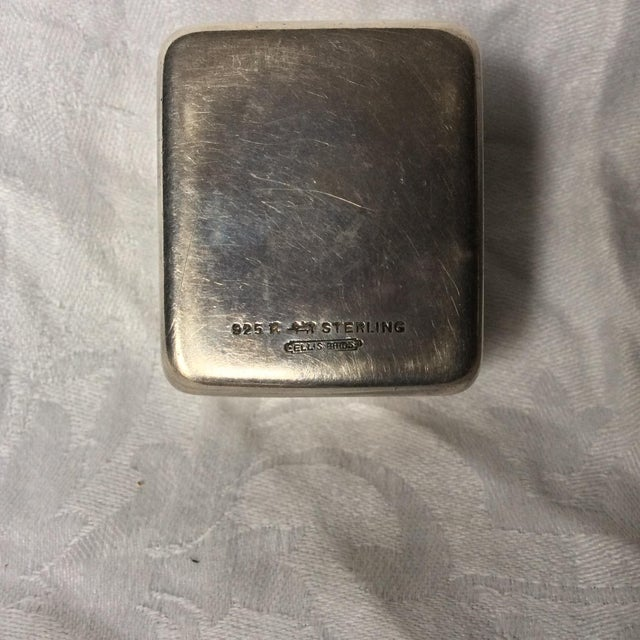Art Deco Sterling Ring Box For Sale - Image 4 of 5