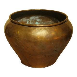 Mid 19th Century Copper Jardinere For Sale