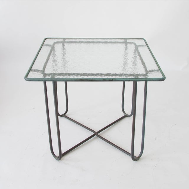 Brown Jordan Walter Lamb Square Patio Dining Table For Sale - Image 4 of 4