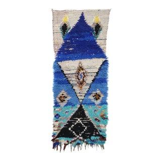 Azilal Vintage Moroccan Rug For Sale