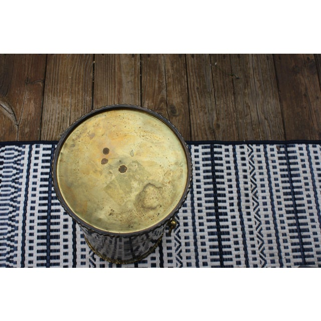 Mid-Century Brass Chinoiserie Umbrella Stand - Image 7 of 9