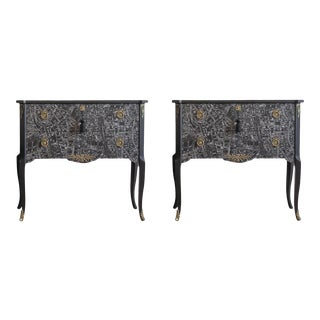 Tribeca Bedside Cabinets - a Pair For Sale