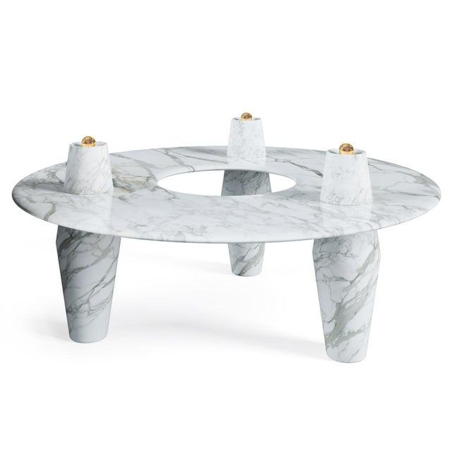 Troy Smith Designs Orbit Coffee 2.0 Table by Artist Troy Smith - Contemporary Design - Artist Proof - Custom Furniture - Limited Edition For Sale - Image 4 of 4