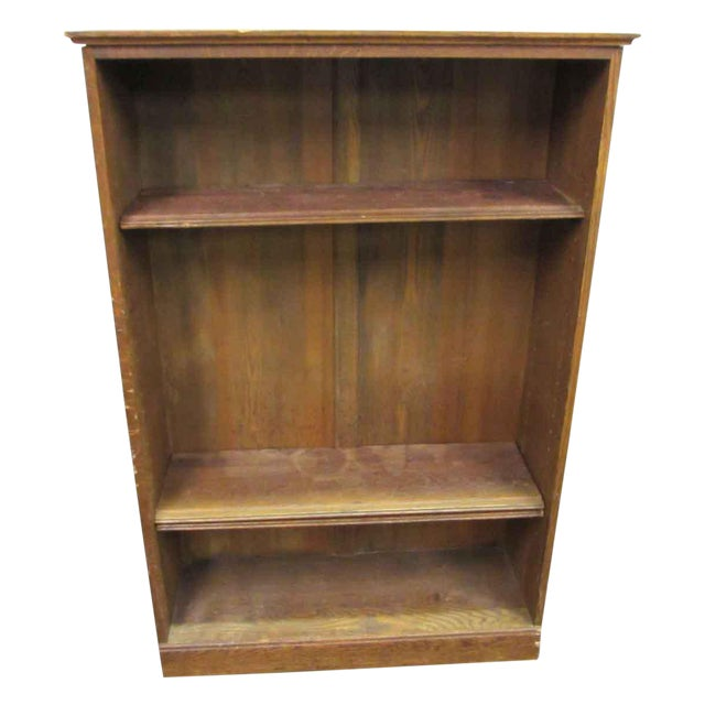 Vintage Wall Bookcase For Sale