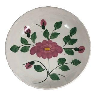 """Vintage Blue Ridge Pottery Serving Bowl - 10-1/4"""" For Sale"""