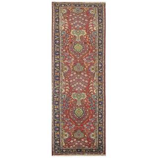 Vintage Persian Tabriz Rug - 2'10'' x 12' For Sale
