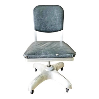 Vintage Industrial Swivel Office Chair by Art Metal, Inc