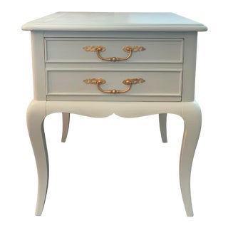 Mid-Century Hekman French Side Table For Sale