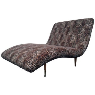 Modern Wave Chaise Longue For Sale
