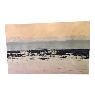 Modern SkyScape Original Abstract Painting by Ellan Maynard For Sale