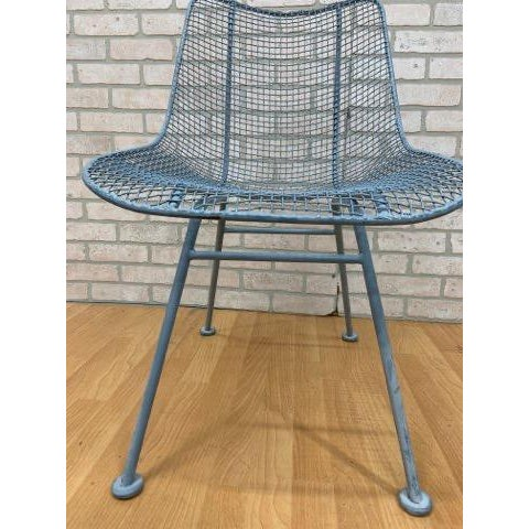 Mid Century Modern Russel Woodard Sculptural Collection Patio Chairs - Pair For Sale - Image 9 of 11