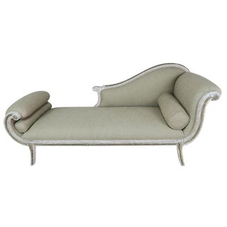 Neoclassical Italian Painted Chaise